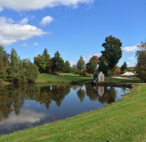 pond by 10th hole 100715 2