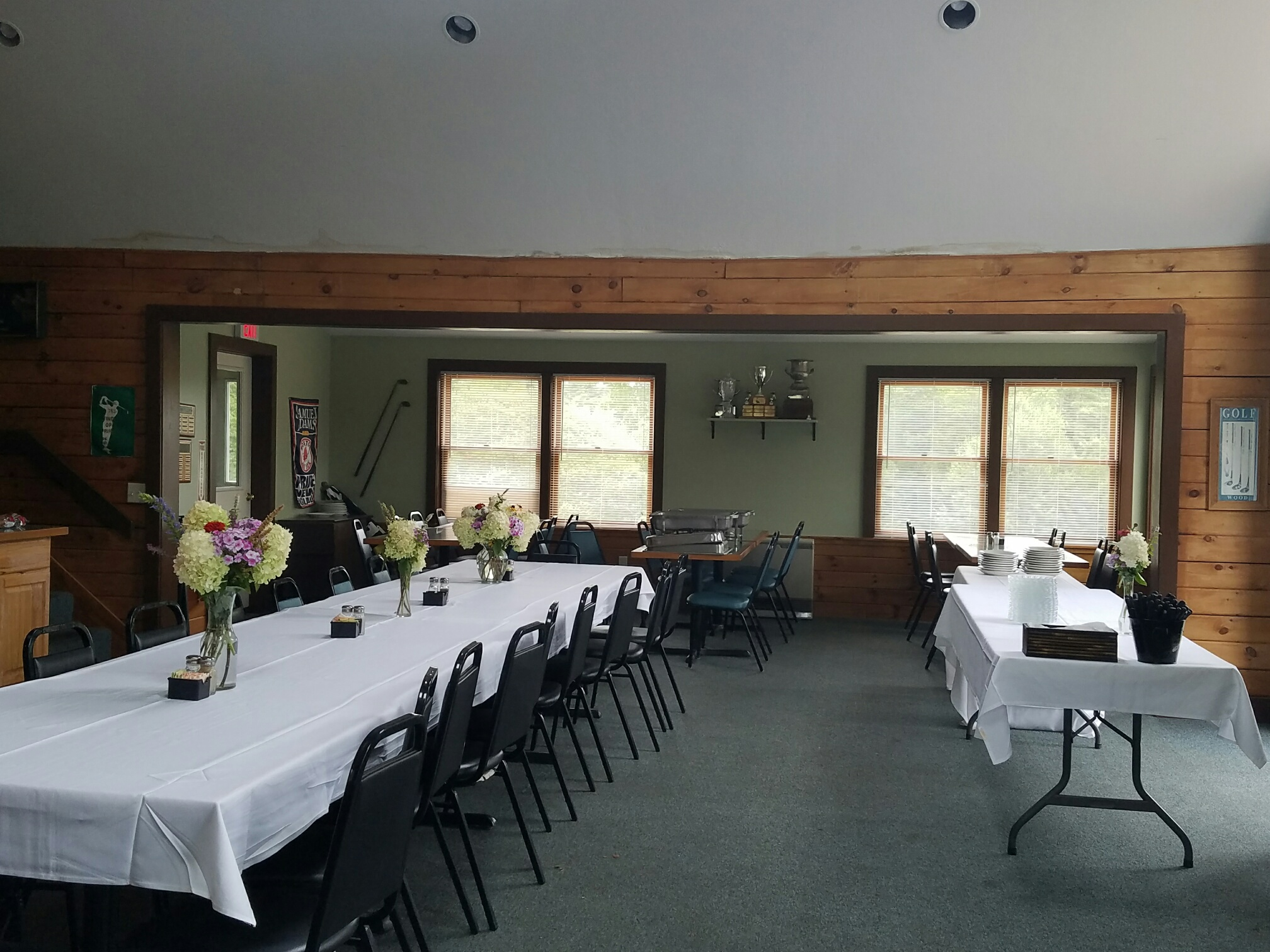 clubhouse banquet set-up 8.31.2016