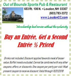 Buy entree, get second half price